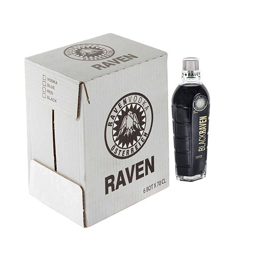 Vodka Noir Black Raven