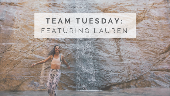 Team Tuesday: Lauren