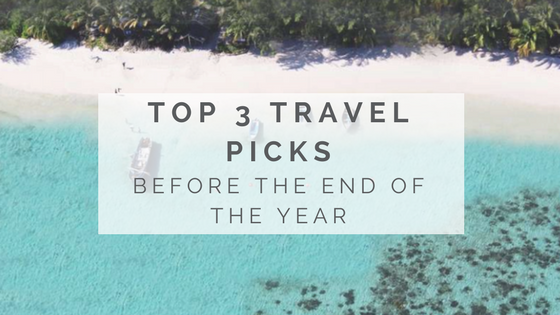 Top 3 Travel Picks