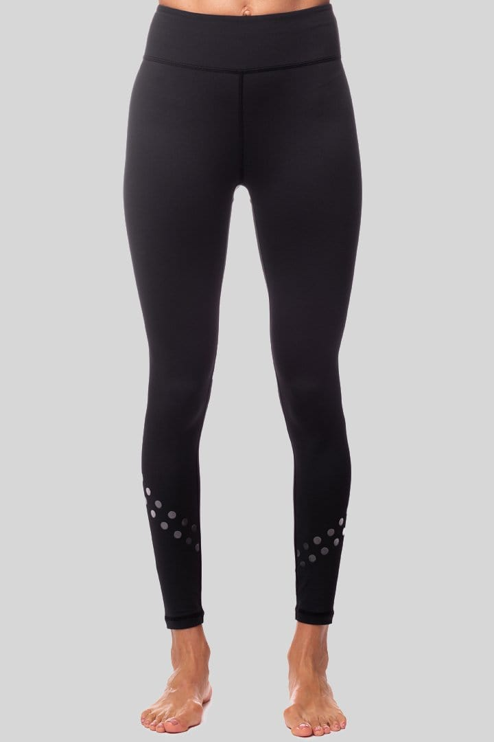 Rockell Dotty 7/8 Legging, Black | Vie Active