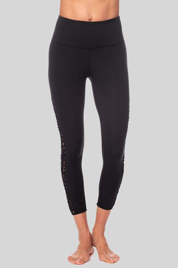 Lucy 7/8 Legging, Black | Vie Active