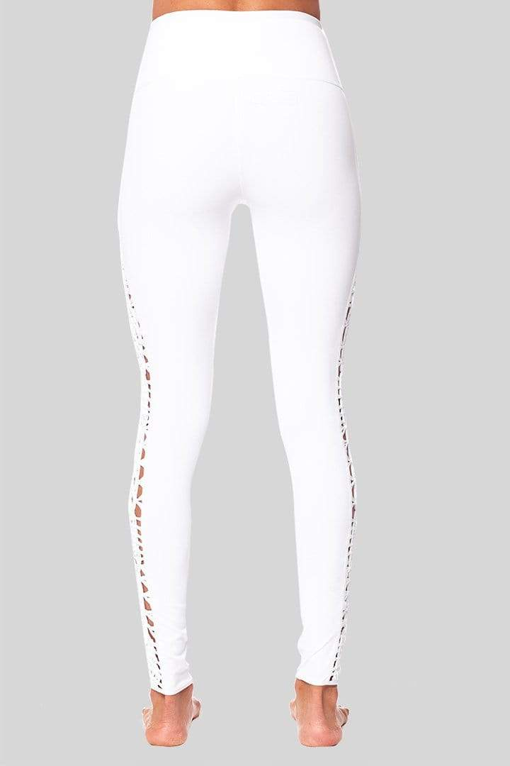 Lucy 7/8 Legging, White