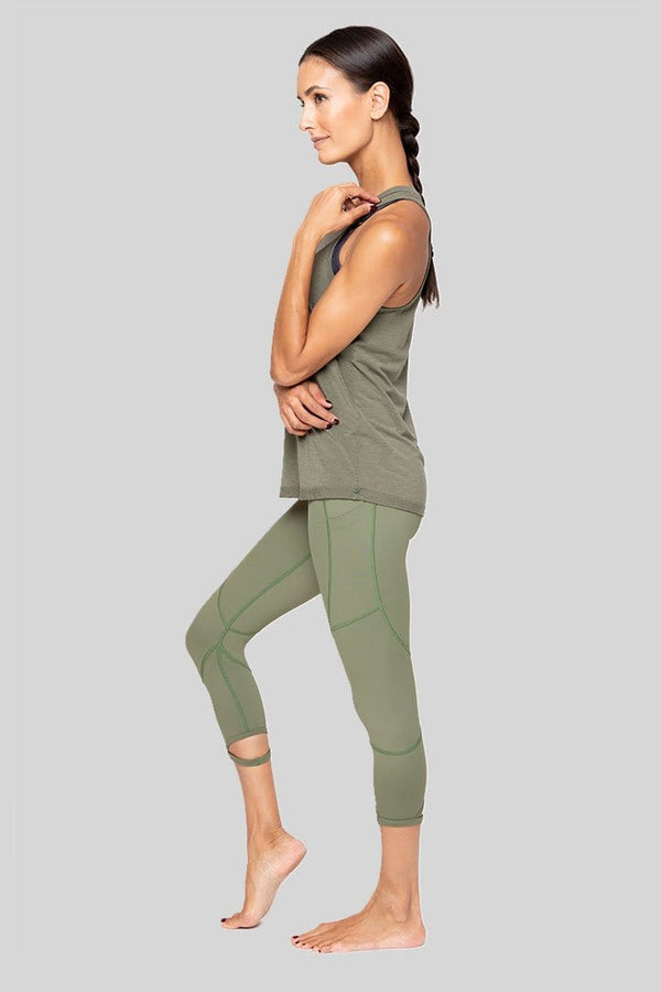 Coco 7/8 Legging, Army | Vie Active