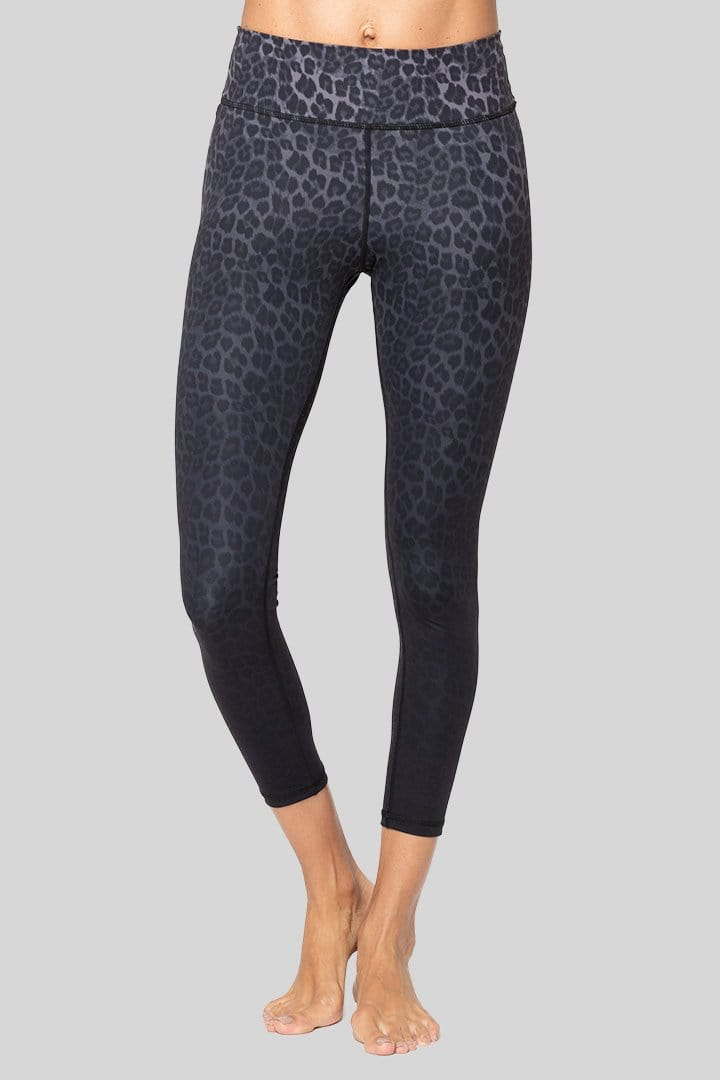 Rockell 7/8 Legging, Charcoal Leopard | Vie Active