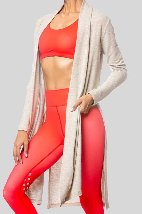 Demsey Duster, Oatmeal | Vie Active