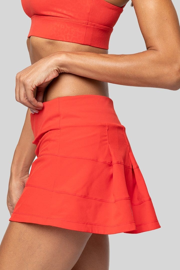 Tenley Tennis Skirt, Red