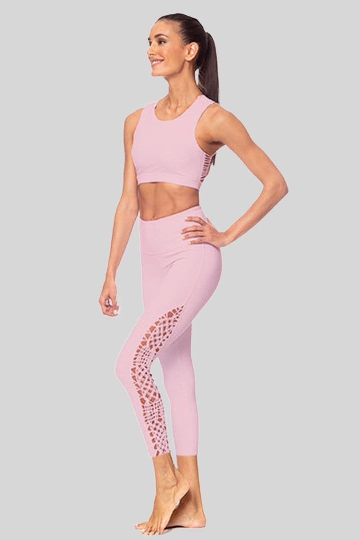 Lucy 7/8 Legging, Blush