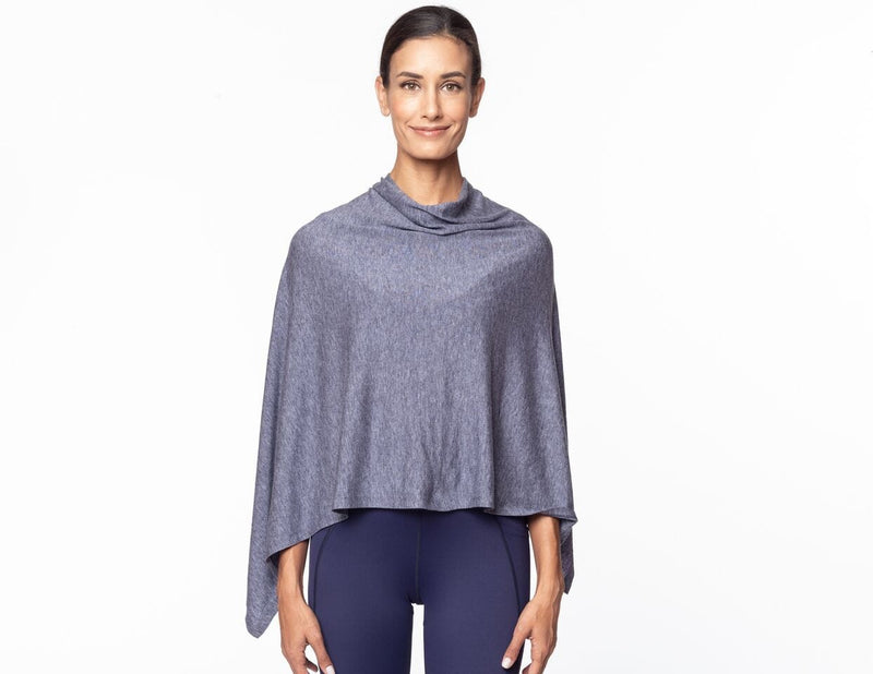 Michaela Poncho, Ink Blue Heather