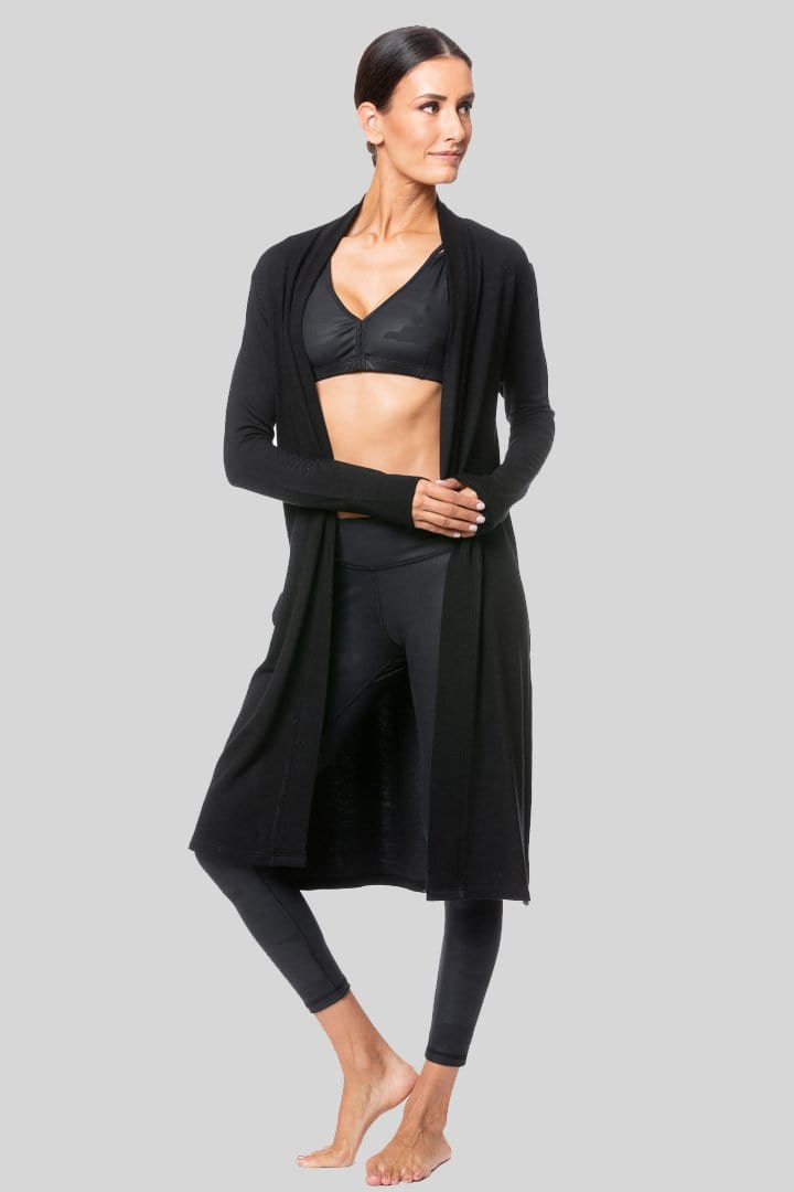 Demsey Duster, Black | Vie Active