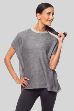 Sophia Sweatshirt, Charcoal | Vie Active