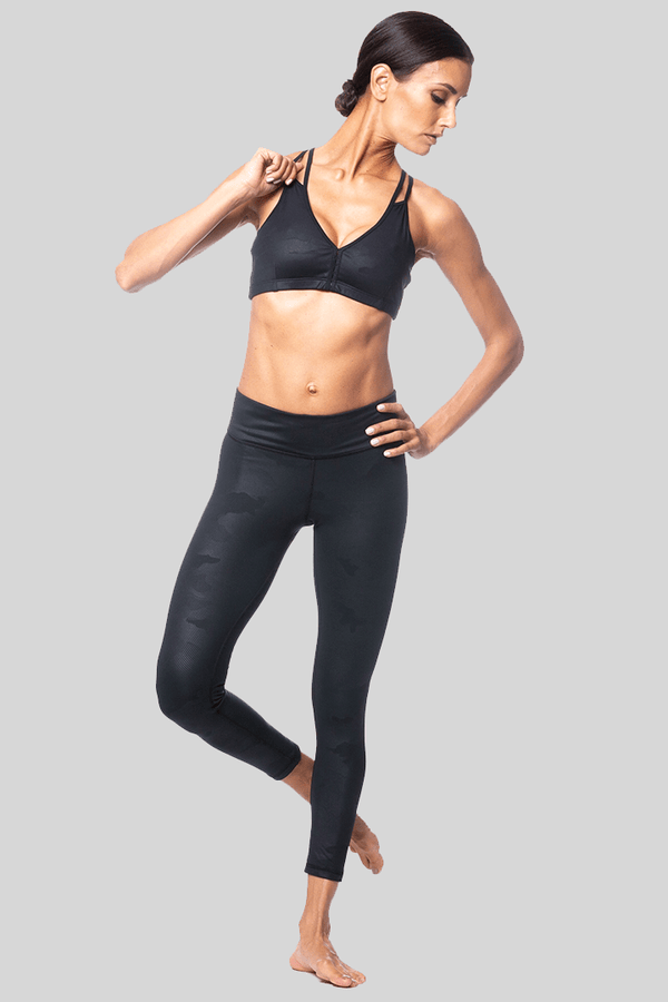 460df38808b14 ... Rockell 7/8 Length Legging, Black Camo Brushed | Vie Active