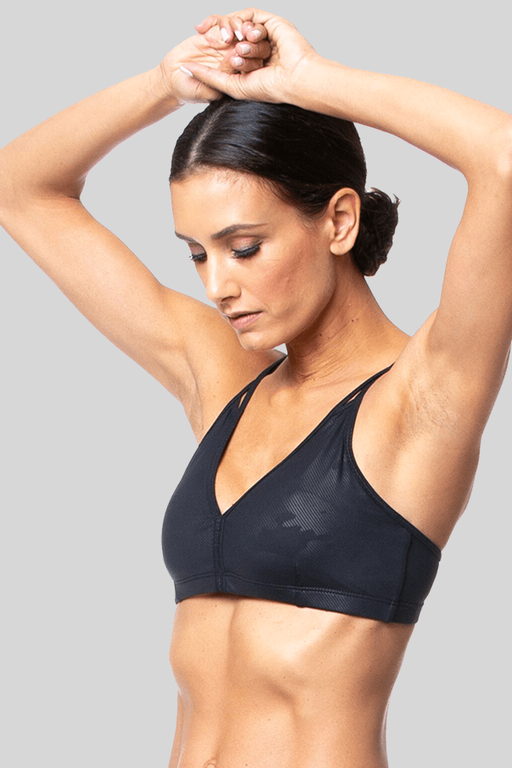 Ally Bra, Black Camo Brushed | Vie Active