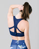GABRIELLE RACERBACK SPORTS BRA - INK BLUE