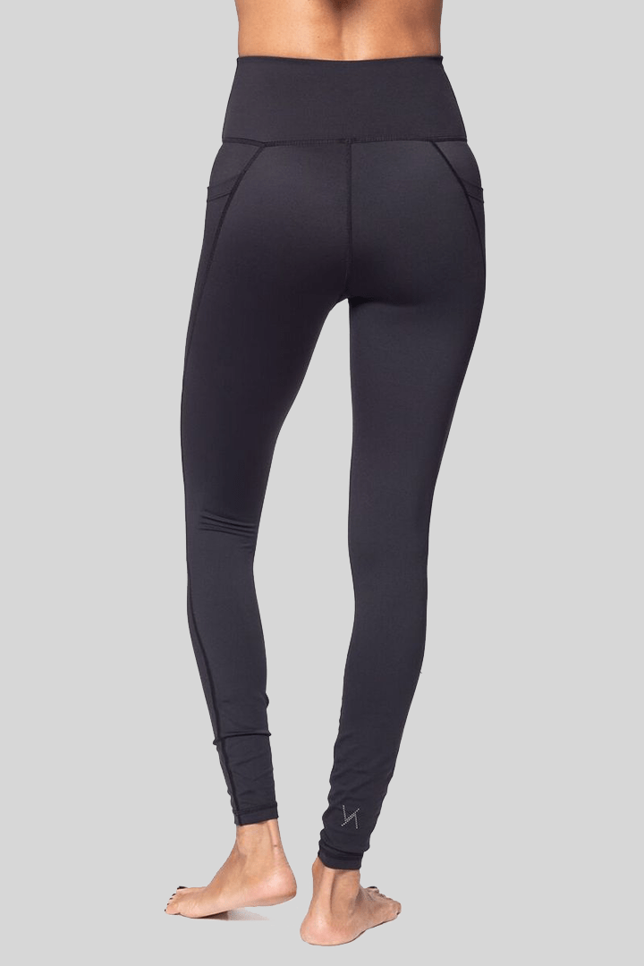 Lili Full Length Legging, Black