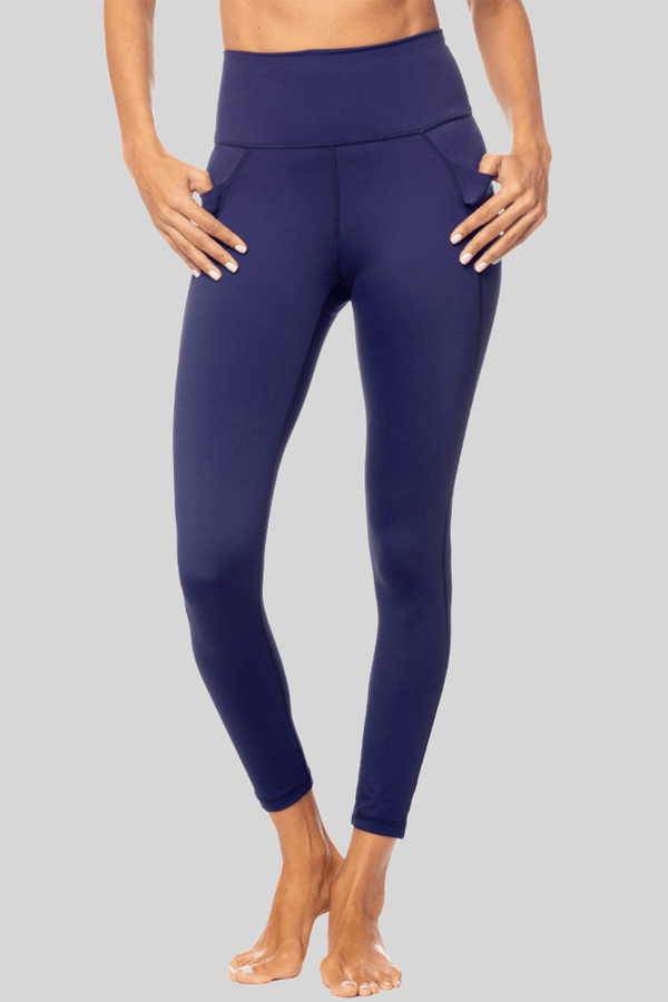 Lili 7/8 Legging, Ink Blue | Vie Active