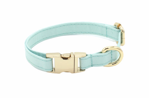 Aqua Jewel Dog Collar