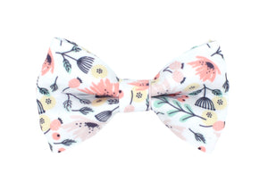 Fun Floral Dog Bow Tie