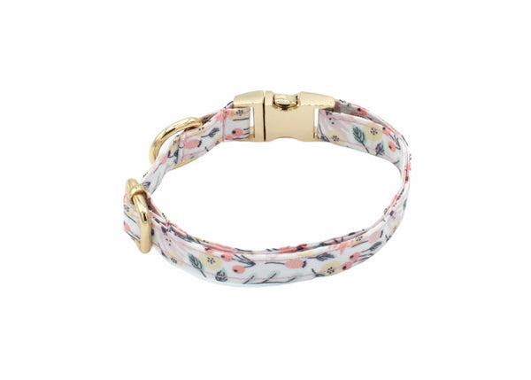 Fun Floral Dog Collar