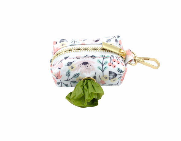 Fun Floral Dog Waste Bag Holder