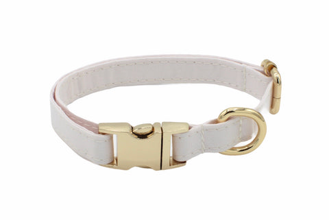 Off White Dog Collar