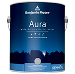Aura Waterborne Exterior Paint - Semi-Gloss Finish