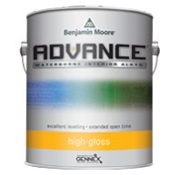ADVANCE Waterborne Interior Alkyd Paint - High Gloss Finish
