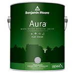 Aura Waterborne Exterior Paint - Flat Finish