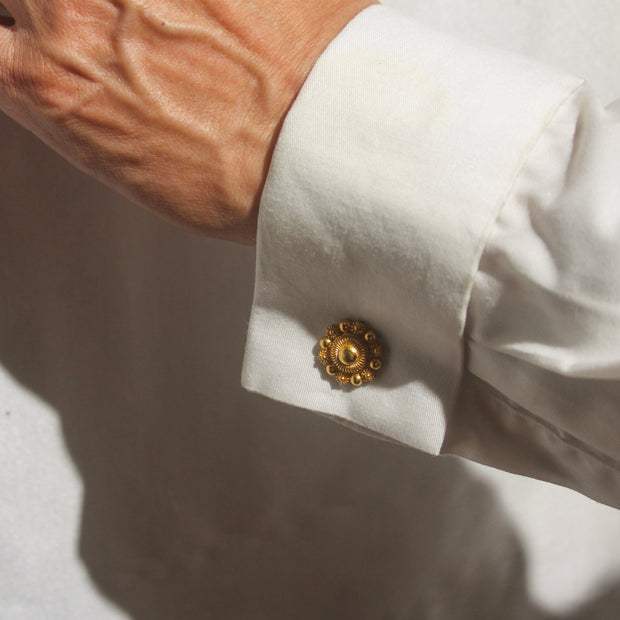 Bernie Filigree Cufflinks