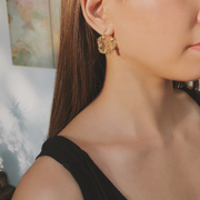 Felicia Creolla Gold Earrings
