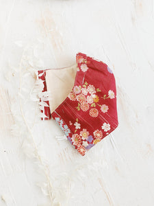 Reusable Face Mask (Haru Red)