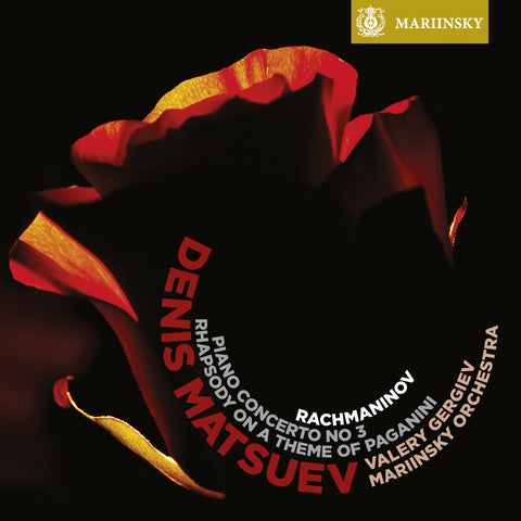 RACHMANINOV <br /> Piano Concerto No 3 & Rhapsody on a Theme of Paganini <small><sup>(Matsuev)</small></sup>