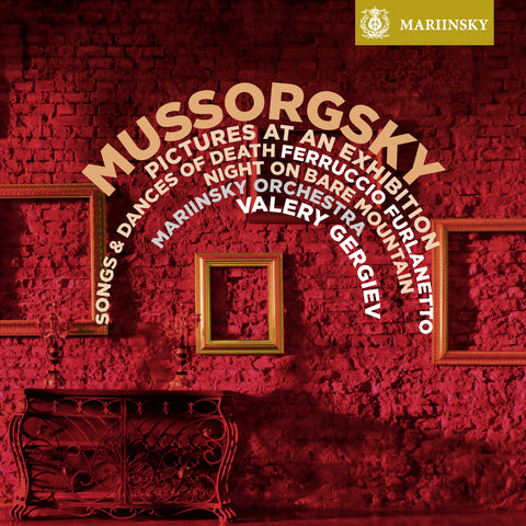 MUSSORGSKY <br /> <small>Pictures at an Exhibition, Songs & Dances of Death,<br /> Night on Bare Mountain</small>
