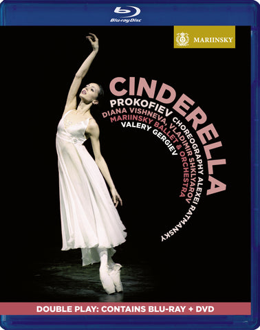 PROKOFIEV <br /> Cinderella <small><sup>[Double Play - BD & DVD]</sup></small>