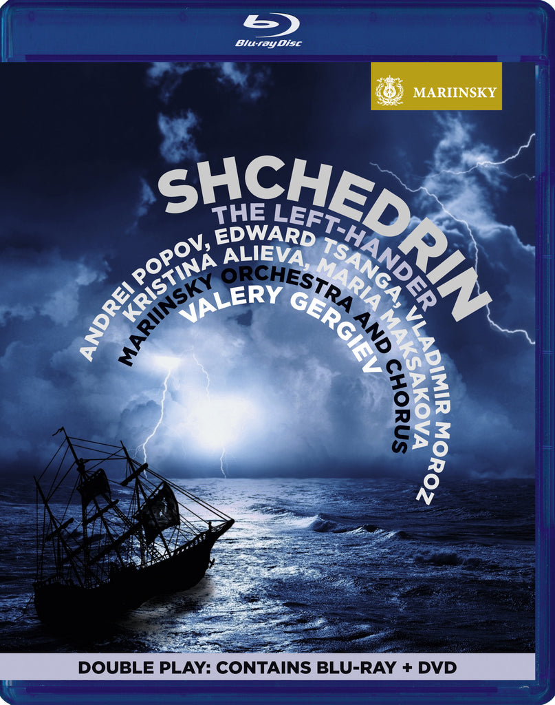 SHCHEDRIN<br /> The Left-Hander<sup><br />[Double Play - BD & DVD]</sup><br /></small>