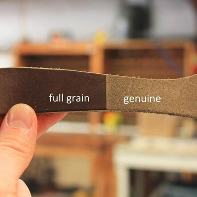 Know Your Leather (Full Grain Vs Genuine Leather)