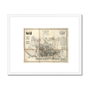 Liverpool and its Environs, by William Swire, 1824 Framed & Mounted Print