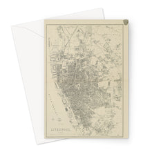 Load image into Gallery viewer, Weekly Dispatch Atlas, 1860 Greeting Card