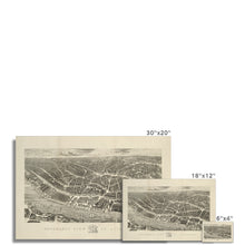 Load image into Gallery viewer, Ackermann's Panoramic View of Liverpool, 1847 Hahnemühle Photo Rag Print