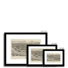 Load image into Gallery viewer, Ackermann's Panoramic View of Liverpool, 1847 Framed & Mounted Print