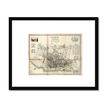 Load image into Gallery viewer, Liverpool and its Environs, by William Swire, 1824 Framed & Mounted Print