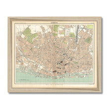 Load image into Gallery viewer, Royal Atlas Plan of Liverpool, 1898 Framed Print