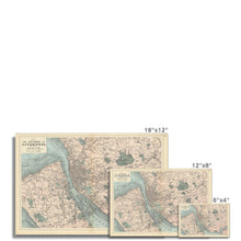 Load image into Gallery viewer, Bacon's Map of Liverpool, 1885 Hahnemühle Photo Rag Print