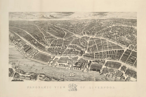 Ackermann's Panoramic View Of Liverpool