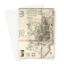 Load image into Gallery viewer, Liverpool and its Environs, by William Swire, 1824 Greeting Card