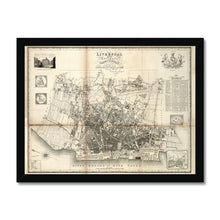 Load image into Gallery viewer, Liverpool and its Environs, by William Swire, 1824 Framed Print