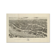 Load image into Gallery viewer, Ackermann's Panoramic View of Liverpool, 1847 Fine Art Print