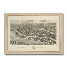 Load image into Gallery viewer, Ackermann's Panoramic View of Liverpool, 1847 Framed Print