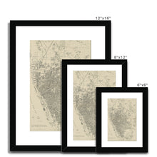 Load image into Gallery viewer, Weekly Dispatch Atlas, 1860 Framed & Mounted Print