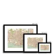 Load image into Gallery viewer, Royal Atlas Plan of Liverpool, 1898 Framed & Mounted Print