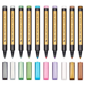 Waterproof Paint Marker Pen(10-color suit)